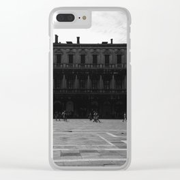 Piazza San Marco Clear iPhone Case