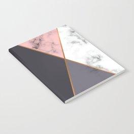 Marble Geometry 018 Notebook