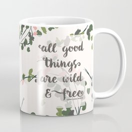 all good things | thoreau Coffee Mug