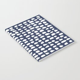 Dots / Navy Notebook