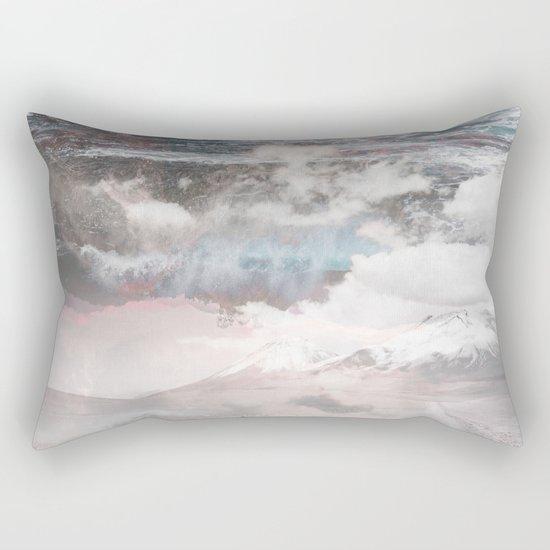 Crashing Clouds Rectangular Pillow