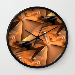 3D abstraction -17- Wall Clock
