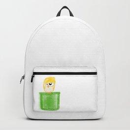 Pocket Unamused Birdie Backpack