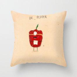 Dr. Pepper Throw Pillow