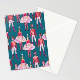 Nutcracker Ballet - Teal Blue Stationery Cards
