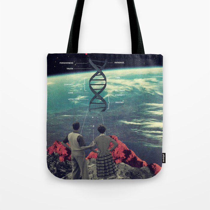 Distance And Eternity Tote Bag