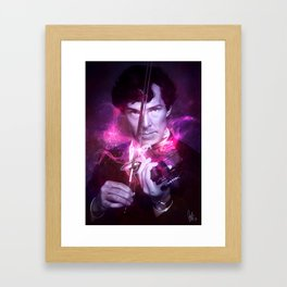 His Last Bow Framed Art Print