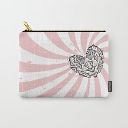 Love Conquers Hate Carry-All Pouch