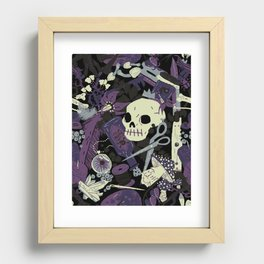 Witchy (Poisonous Variant) Recessed Framed Print