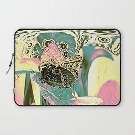 Butterfly in Spacy Freaky Wonderland  Laptop Sleeve