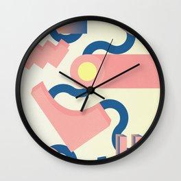 Lilium candidum #1 Wall Clock