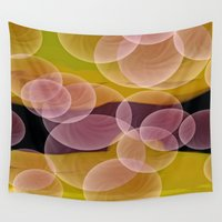 bubbles Wall Tapestries featuring Bubbles by lillianhibiscus