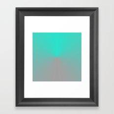 TIMECODE FLEX CLOCK Framed Art Print