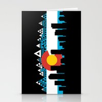 colorado Stationery Cards featuring COLORADO by Love Life Creative