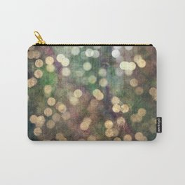Magical Lights Gold Dots Carry-All Pouch