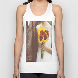Man & Wife Unisex Tank Top