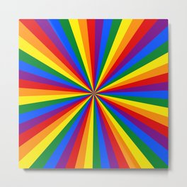 Eternal Rainbow Infinity Pride Metal Print