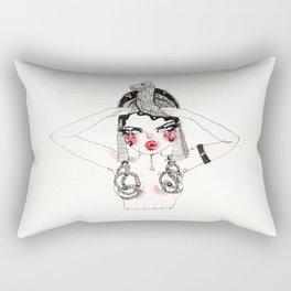 Ode To Theda Rectangular Pillow