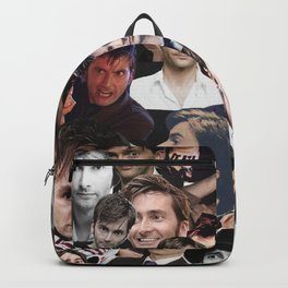 David Tennant collage Backpack