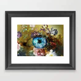 Beauty is in the eye of the beholder Framed Art Print