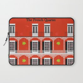 The French Quarter  New Orleans Laptop Sleeve