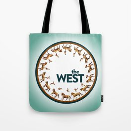 The West Medallion Tote Bag