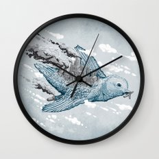 Cleaning the World Wall Clock