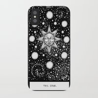 tarot iPhone & iPod Cases featuring Star Tarot by Corinne Elyse