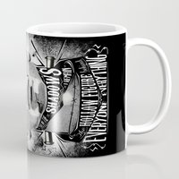 frankenstein Mugs featuring Frankenstein by Jared Andolsek