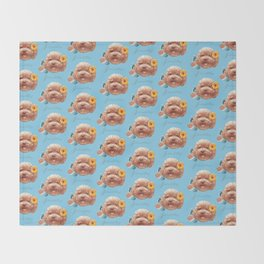 Toy Poodle Throw Blanket