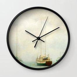 Morning Fog Wall Clock