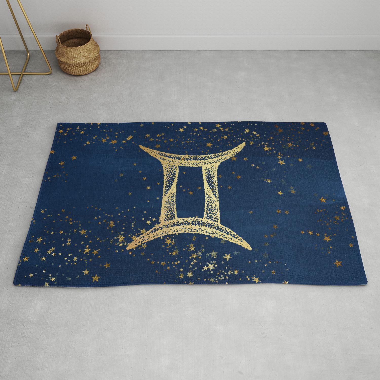 gemini horoscope wall hanging tapestry art home blanket mat