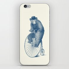 Morning Ride - Blue Option iPhone & iPod Skin