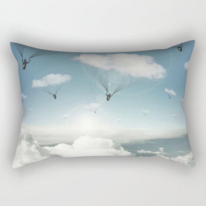 The Rain Bringers Rectangular Pillow