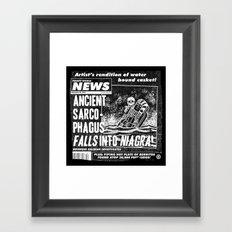 Freaky World News 2 Framed Art Print