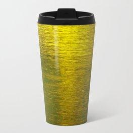 Gold Water I Travel Mug