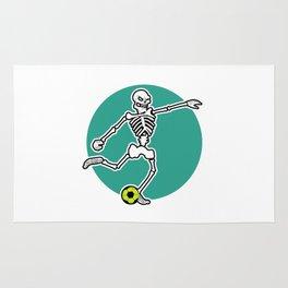 Calavera Soccer Rug
