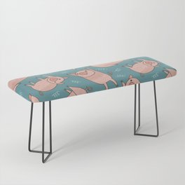 Pattern Project #52 / Piglets Bench