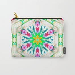 pansy petal parade Carry-All Pouch