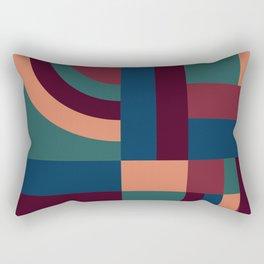 Velvet Blocks #society6 #pattern Rectangular Pillow