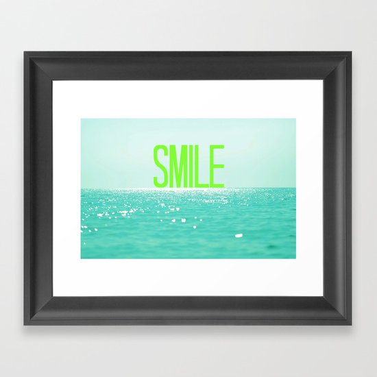 (: Framed Art Print