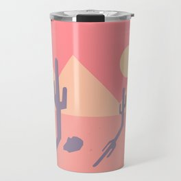 Vintage Desert Cutout Travel Mug