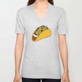 Because Tacos Unisex V-Neck