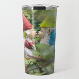 First Kiss - Garden Gnome Travel Mug
