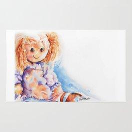 Raggedy Rosie ... Rag Doll Rug