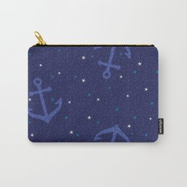 Starfish Anchor - Navy Carry-All Pouch