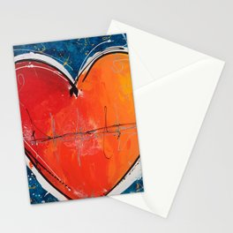 Go with you heart Stationery Cards