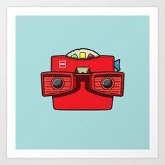 #42 Viewmaster Art Print