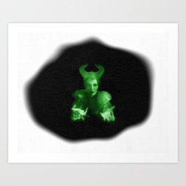 Maleficent's Evil Spell / Sleeping Beauty Art Print