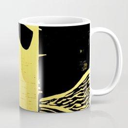 Photo Yellow - Abstract Surrealism Print Coffee Mug